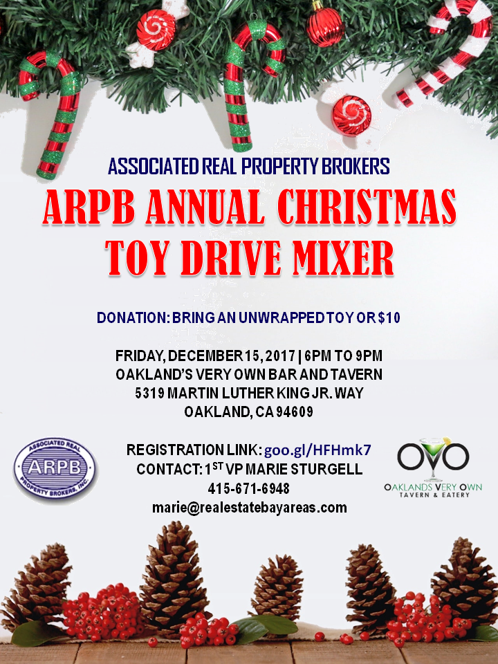 ARPB Annual Christmas Toy Drive Mixer