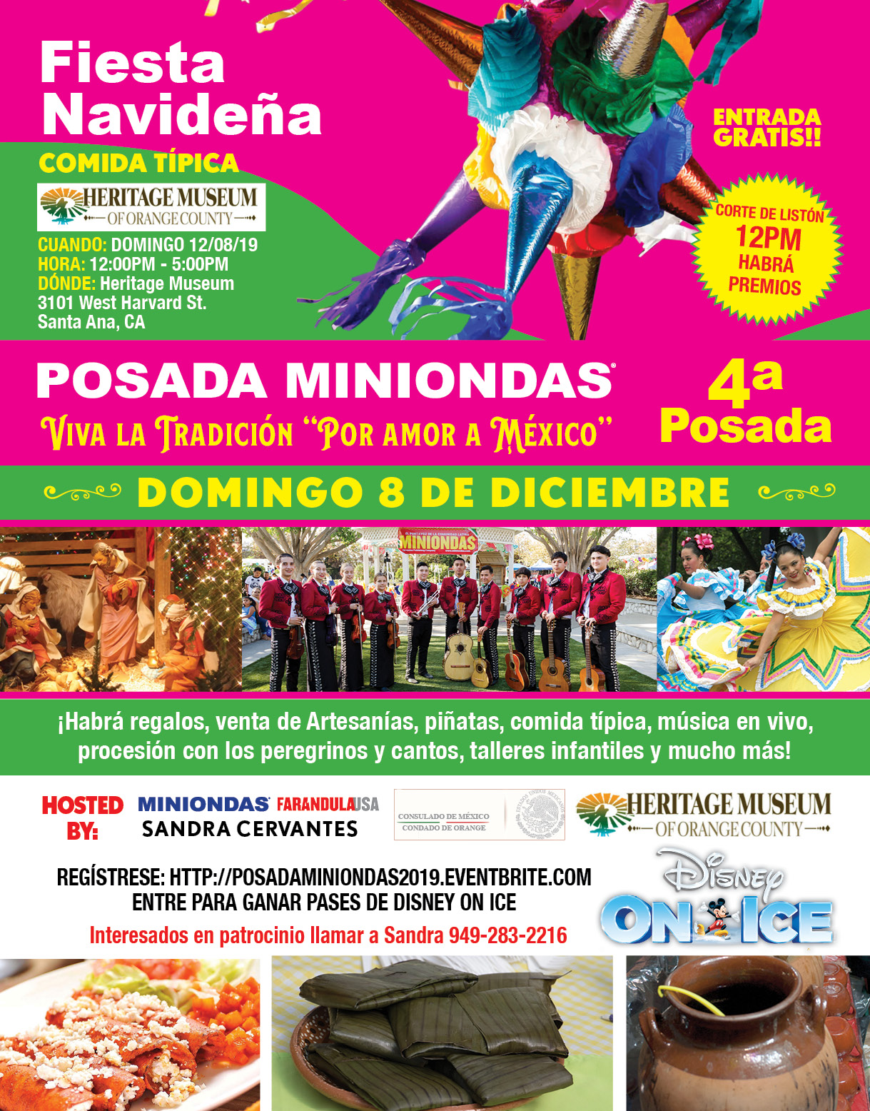 Posada Miniondas 2019