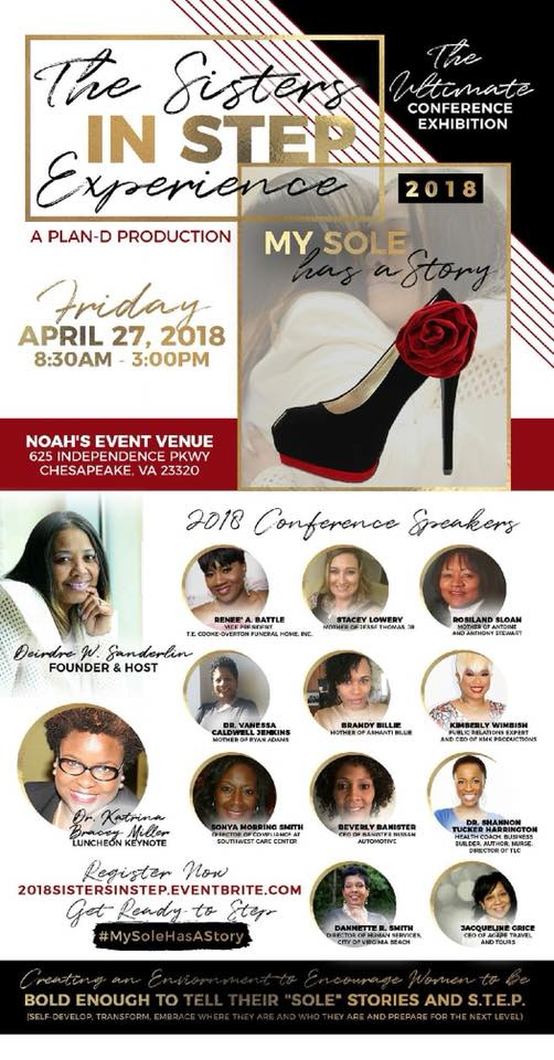 2018 Sisters in Step Conference Flyer