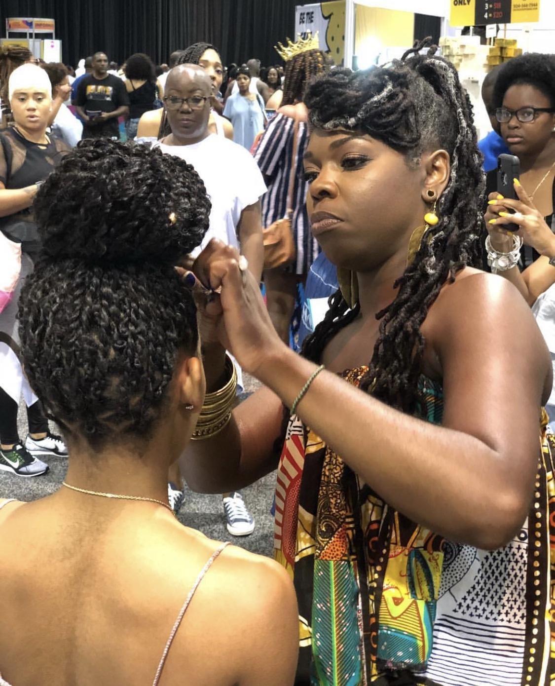 Natural Hair Demonstrations