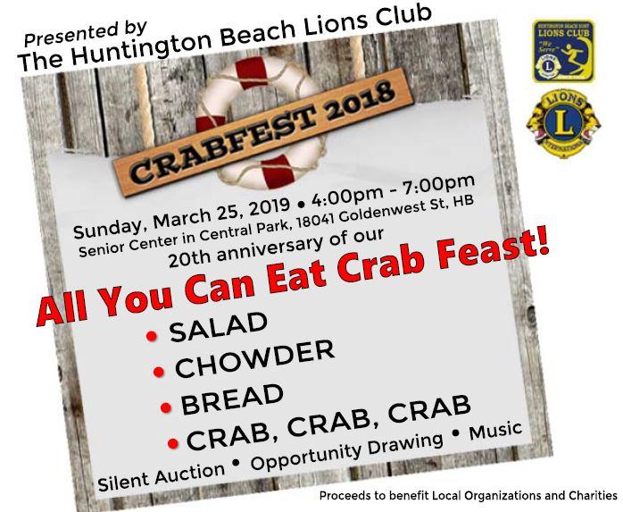 2018 Crabfest Flyer