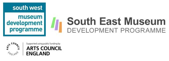 South West Museum Development, South East Museum Development and Arts Council England Logo