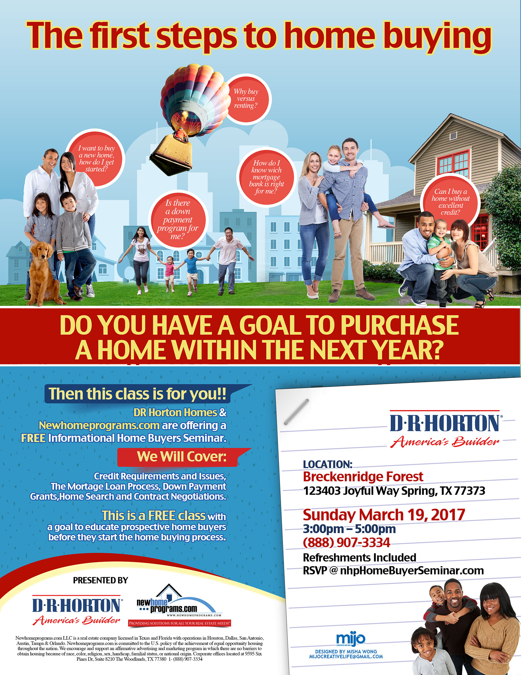 FREE Home Buyer Seminar