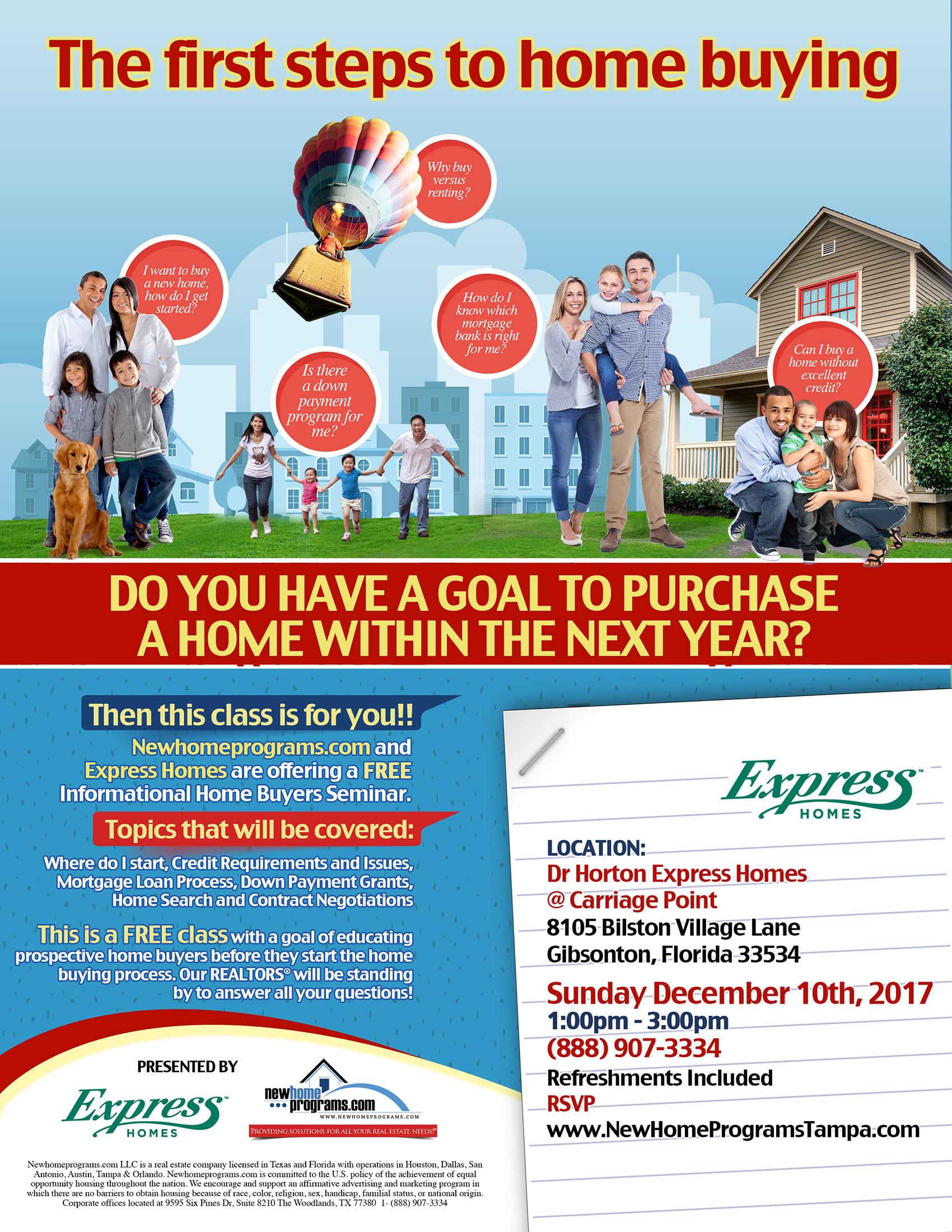 FREE Home Buying Seminar | Gibsonton, FL