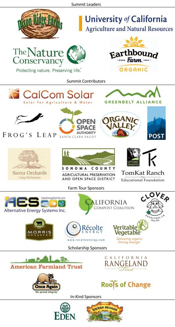 2017 Summit Sponsors