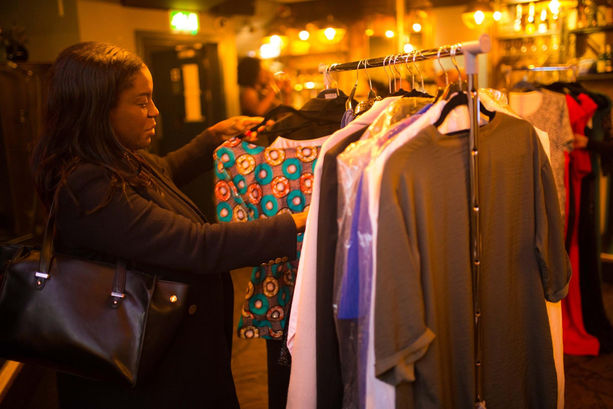 Images from ESM Clothes Swap in January