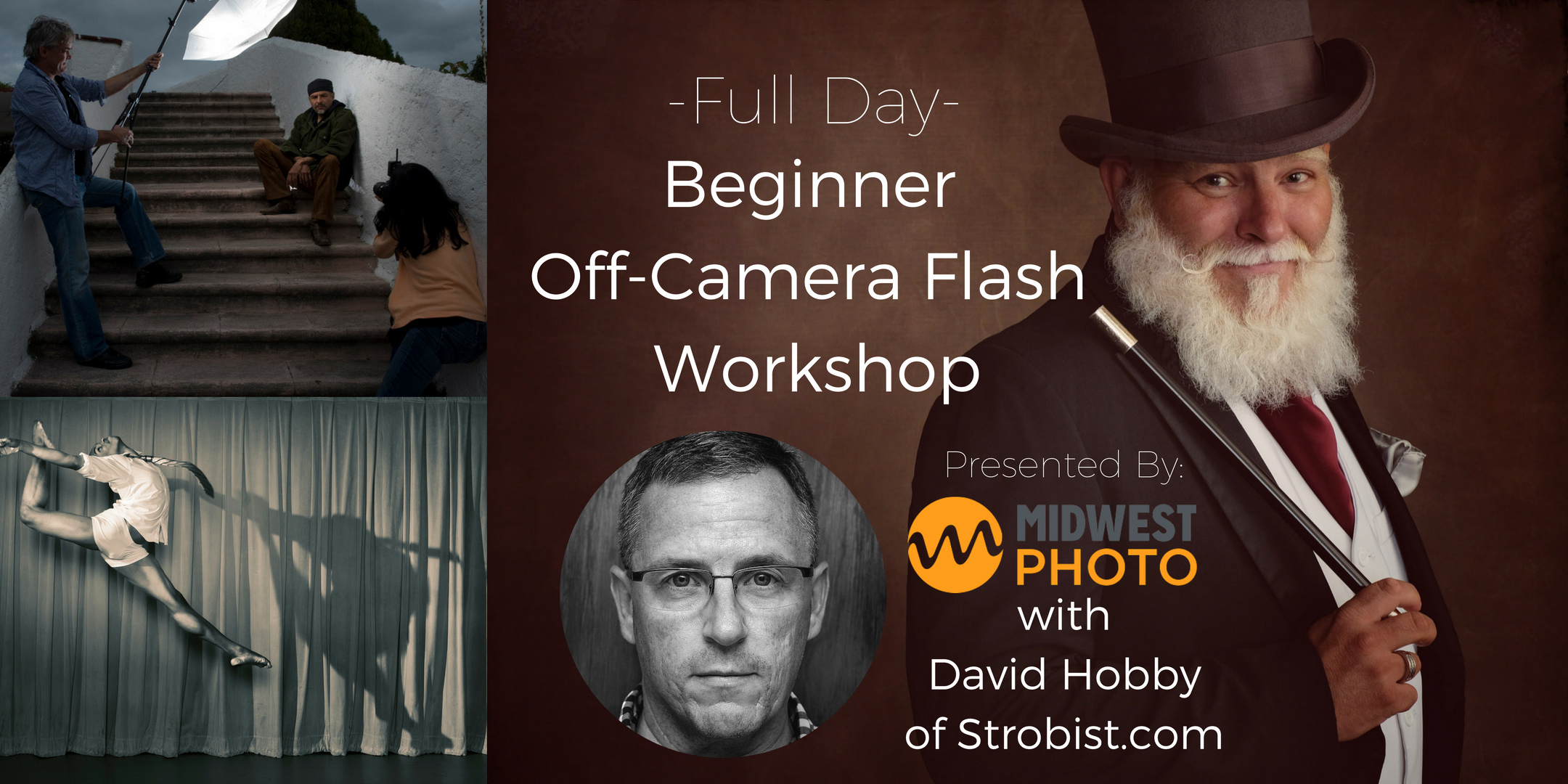Beginner Off Camera Flash with David Hobby