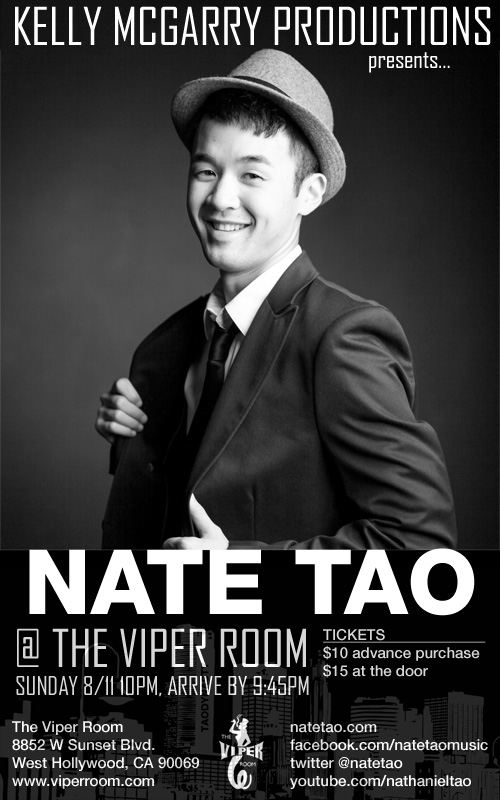 Nate Tao at The Viper Room