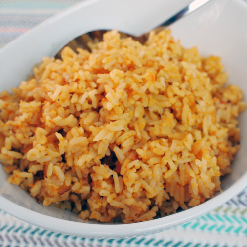 is served mexican red rice a perfect mexican red rice mexican raw rice ...