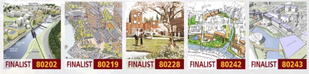 five finalists