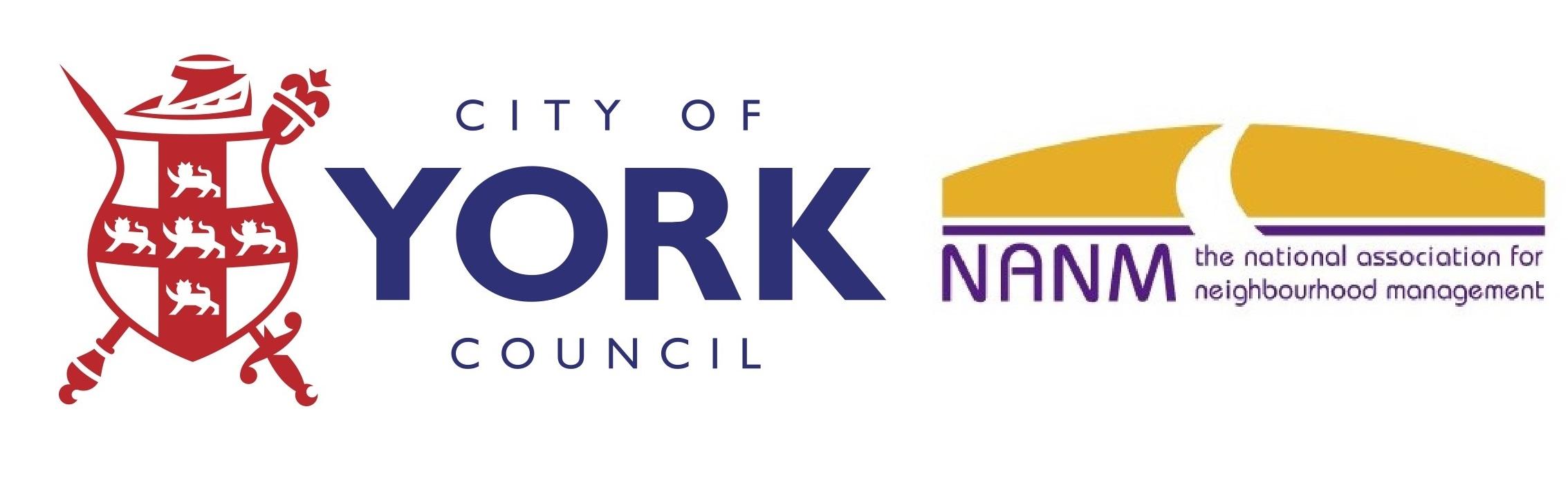 York & NANM Logos
