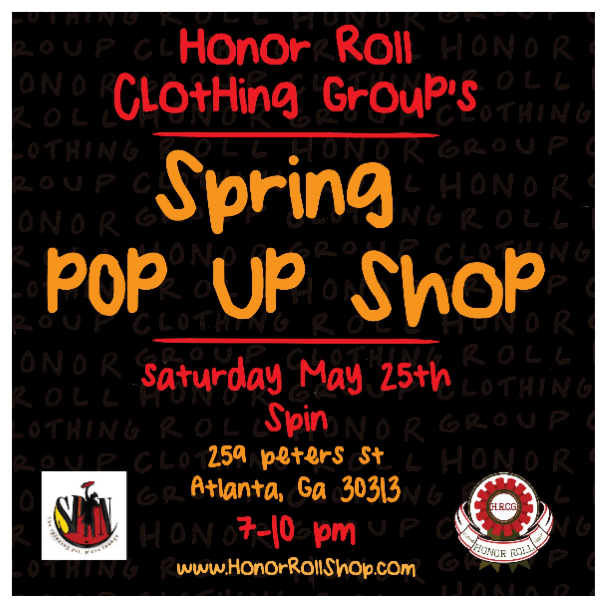 Honor Roll Clothing Group Flyer