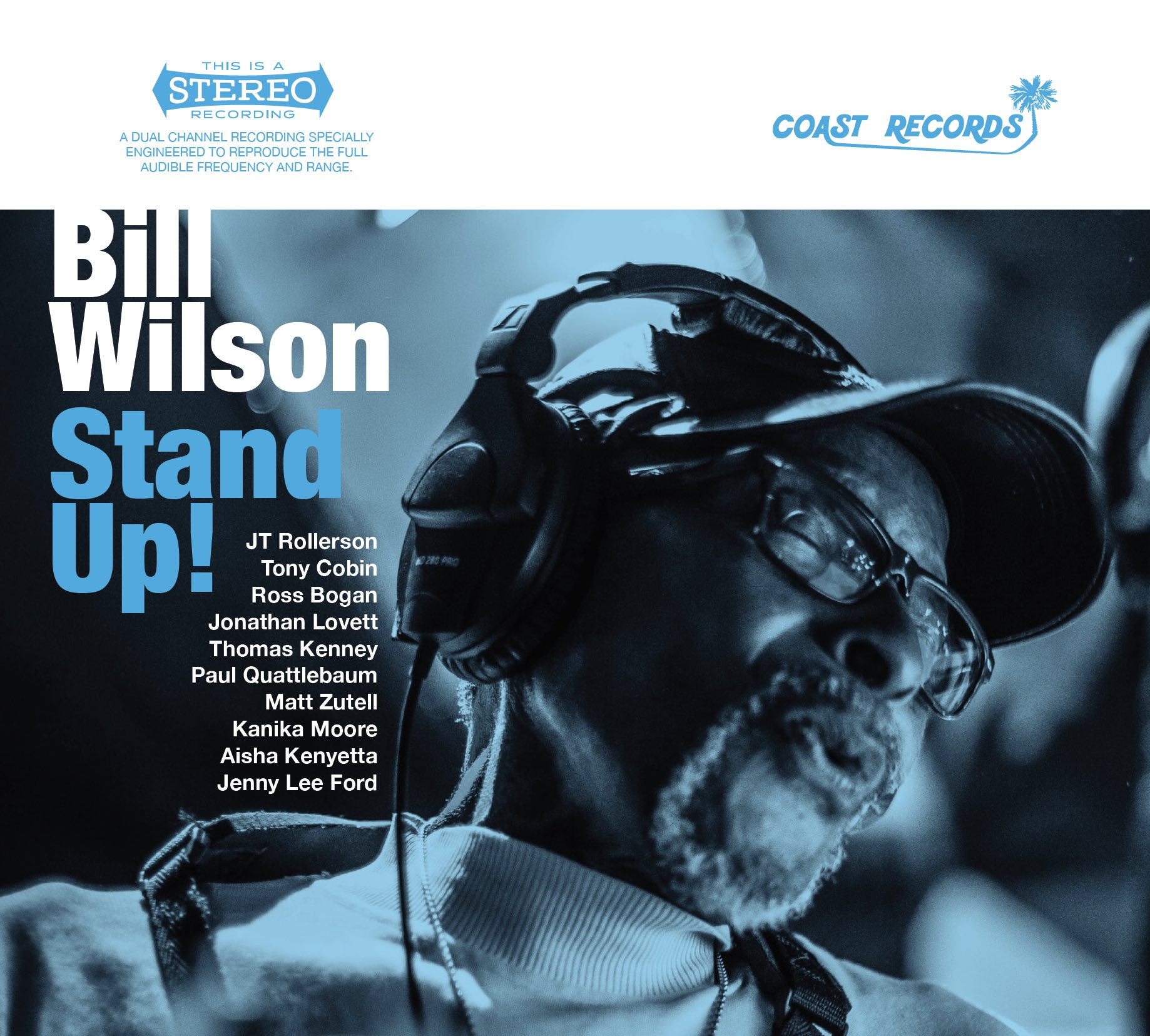 Bill Wilson Stand Up! Album Cover