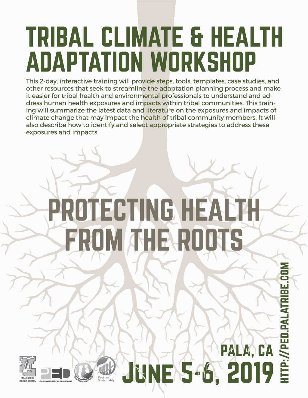 Pala Environmental Department Tribal Climate Adaptation Workshop 2019