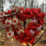 valentines wreath sample