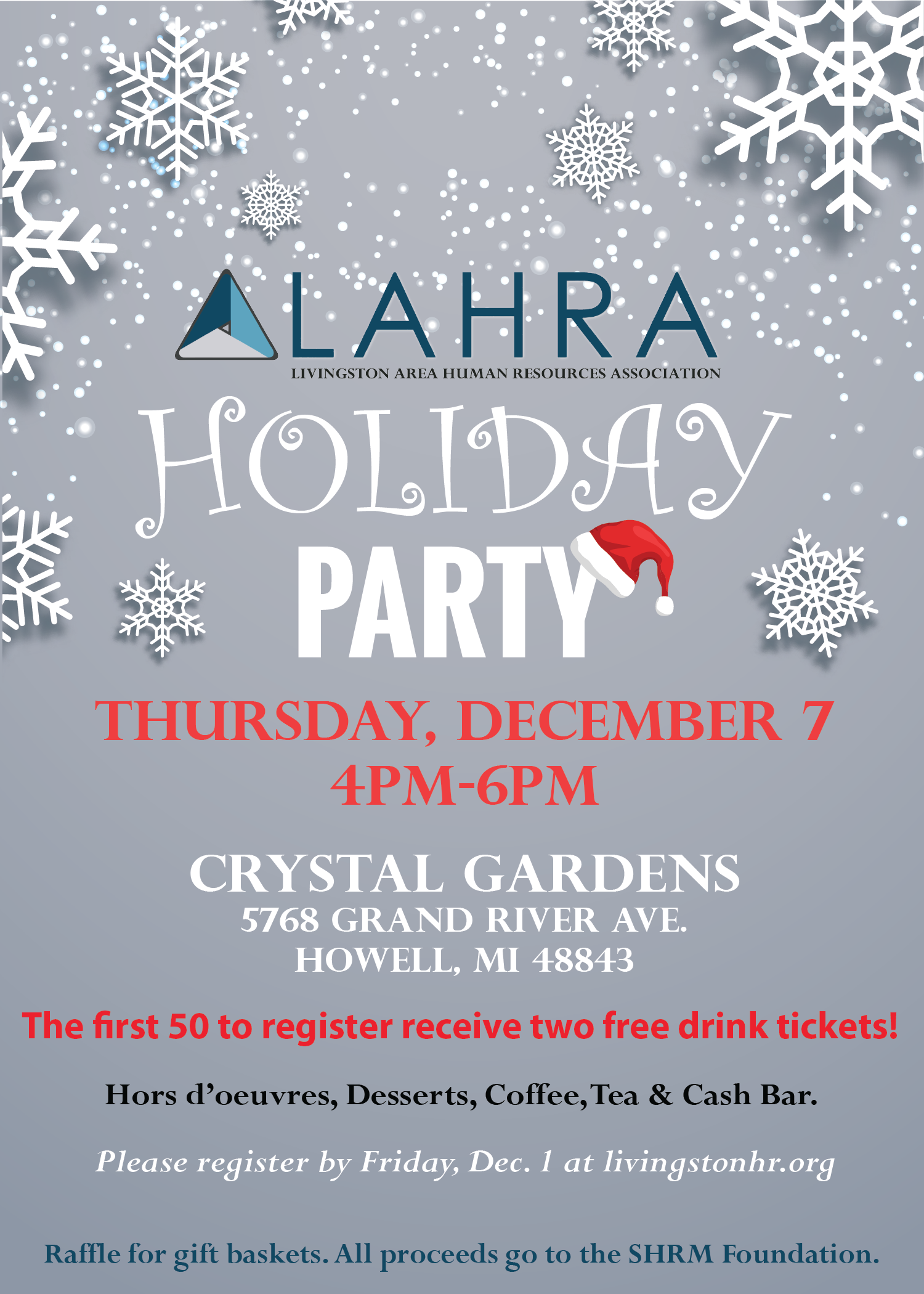 LAHRA Holiday Party 2017