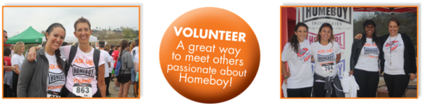 Homeboy5K Volunteers