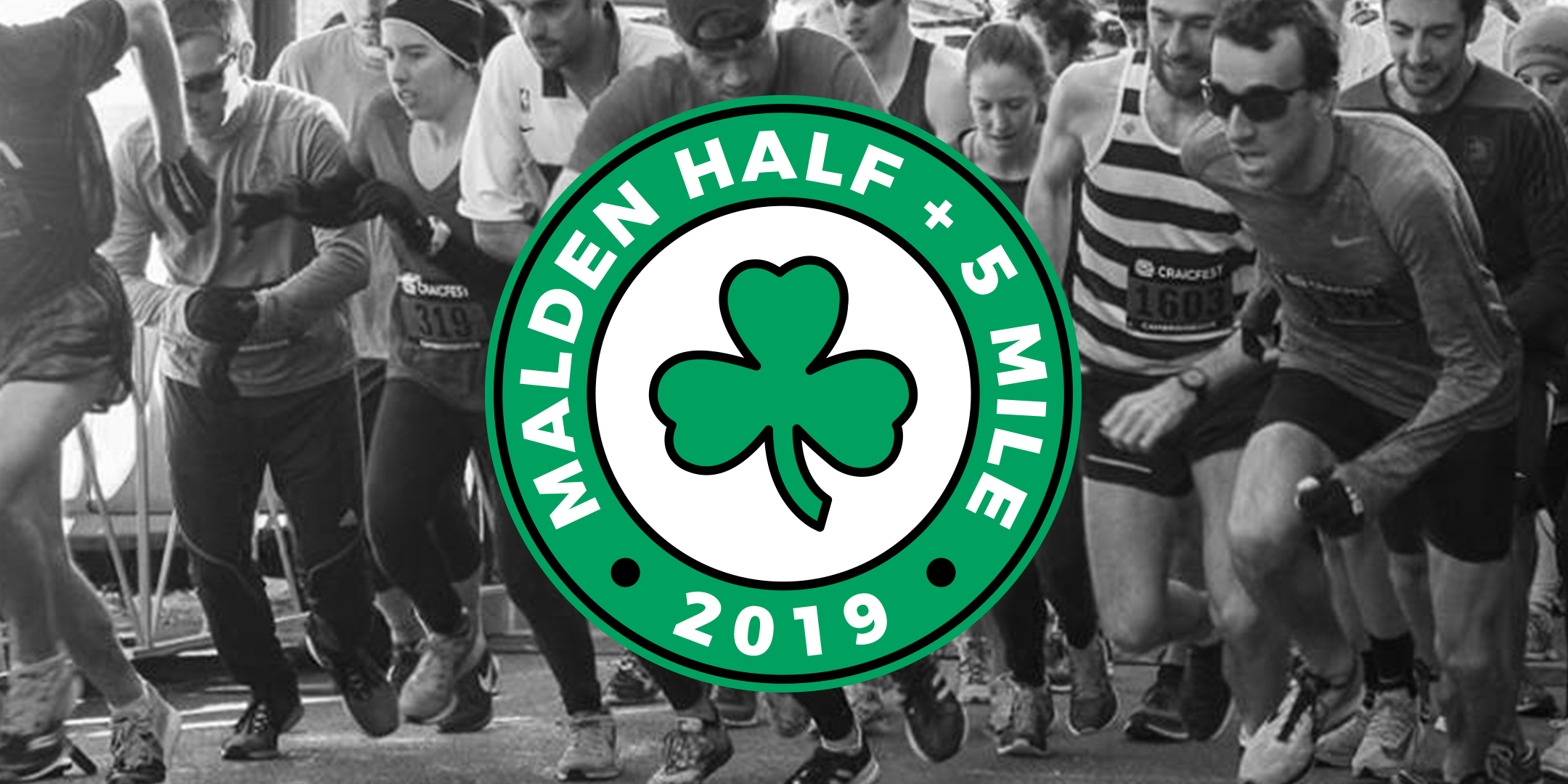 malden half and 5 mile logo