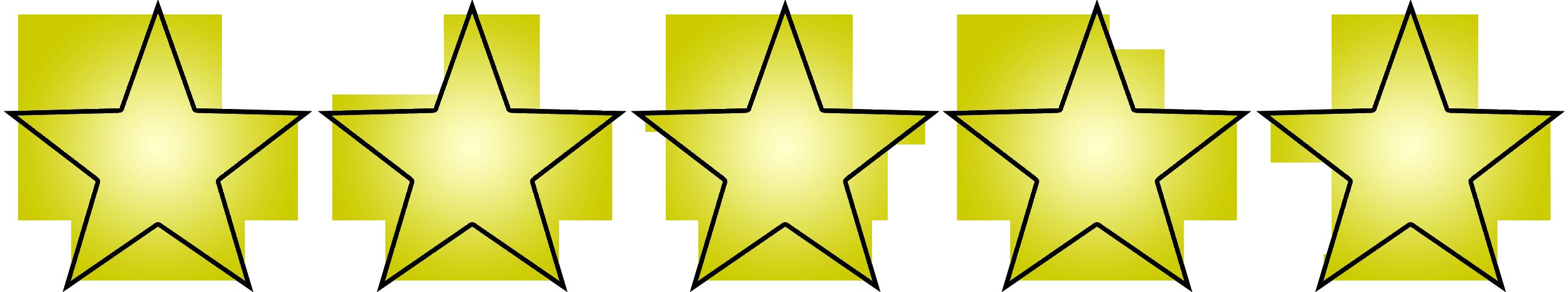 5 Star Rating