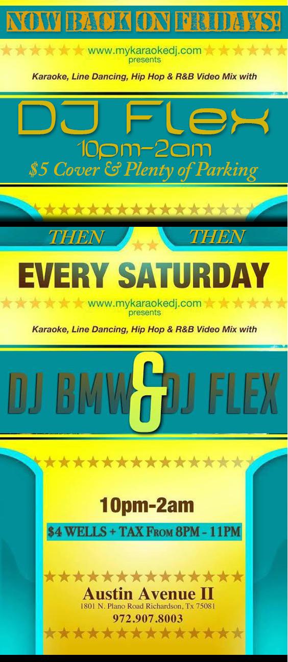 karaoke fridays with djflex
