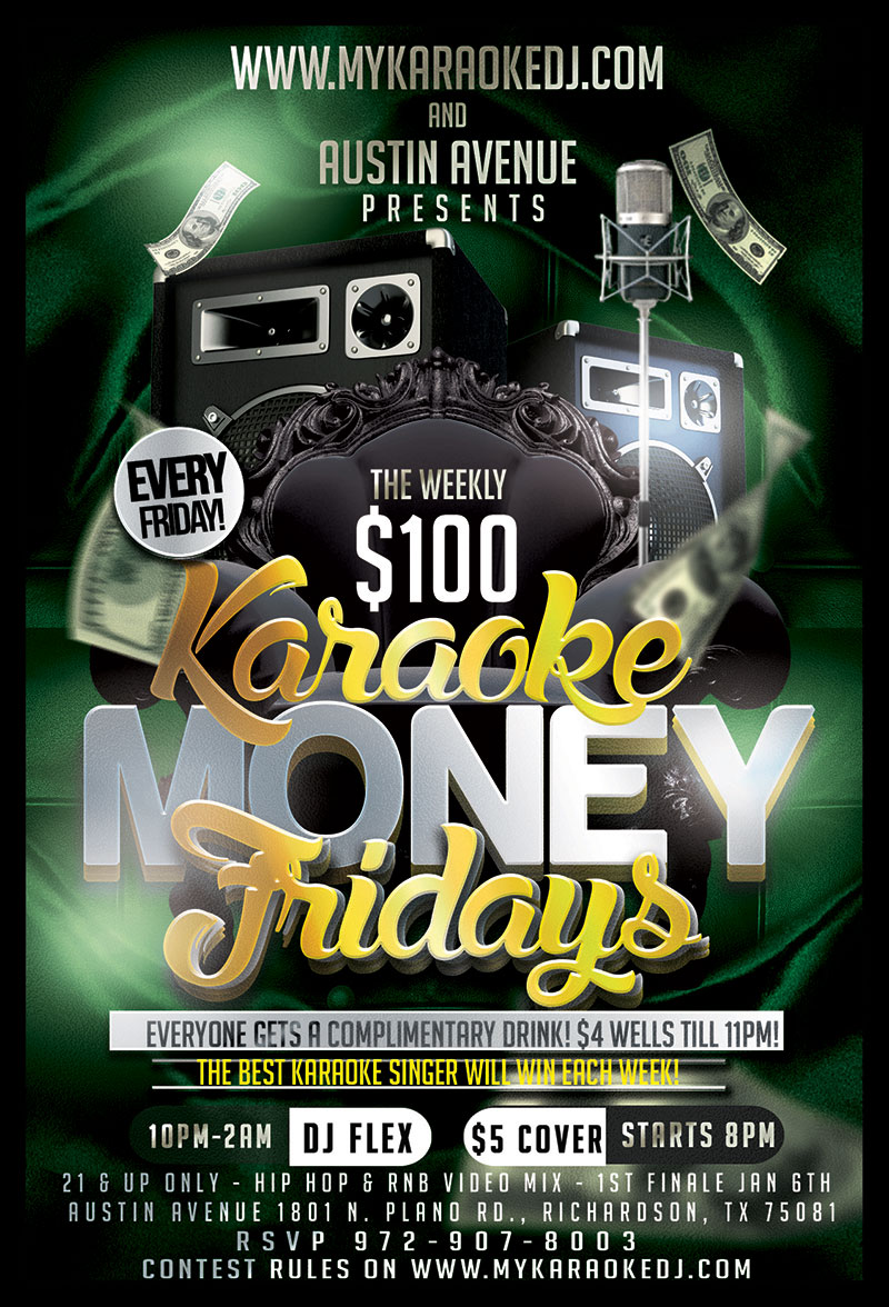 karaoke-fridays-at-austin-avenue-in-richardson-with-dj-flex-1801-north-plano-road-richardson