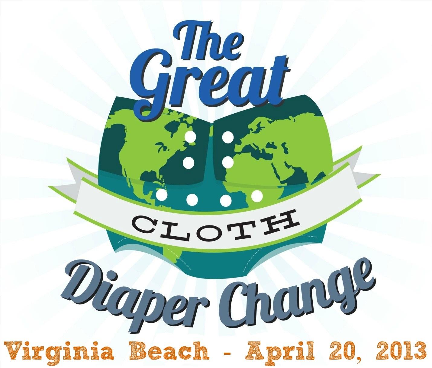 Great Cloth Diaper Change Virginia Beach 2013