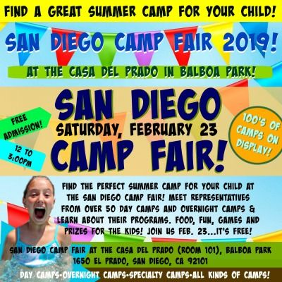 San Diego Camp Fair promotional image