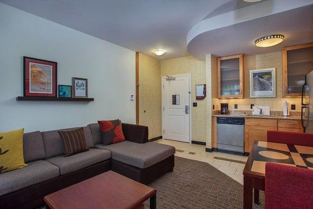 Suite Living Area & Kitchen