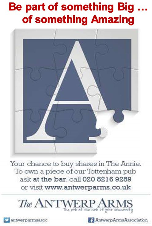 The Antwerp Arms Share Offer