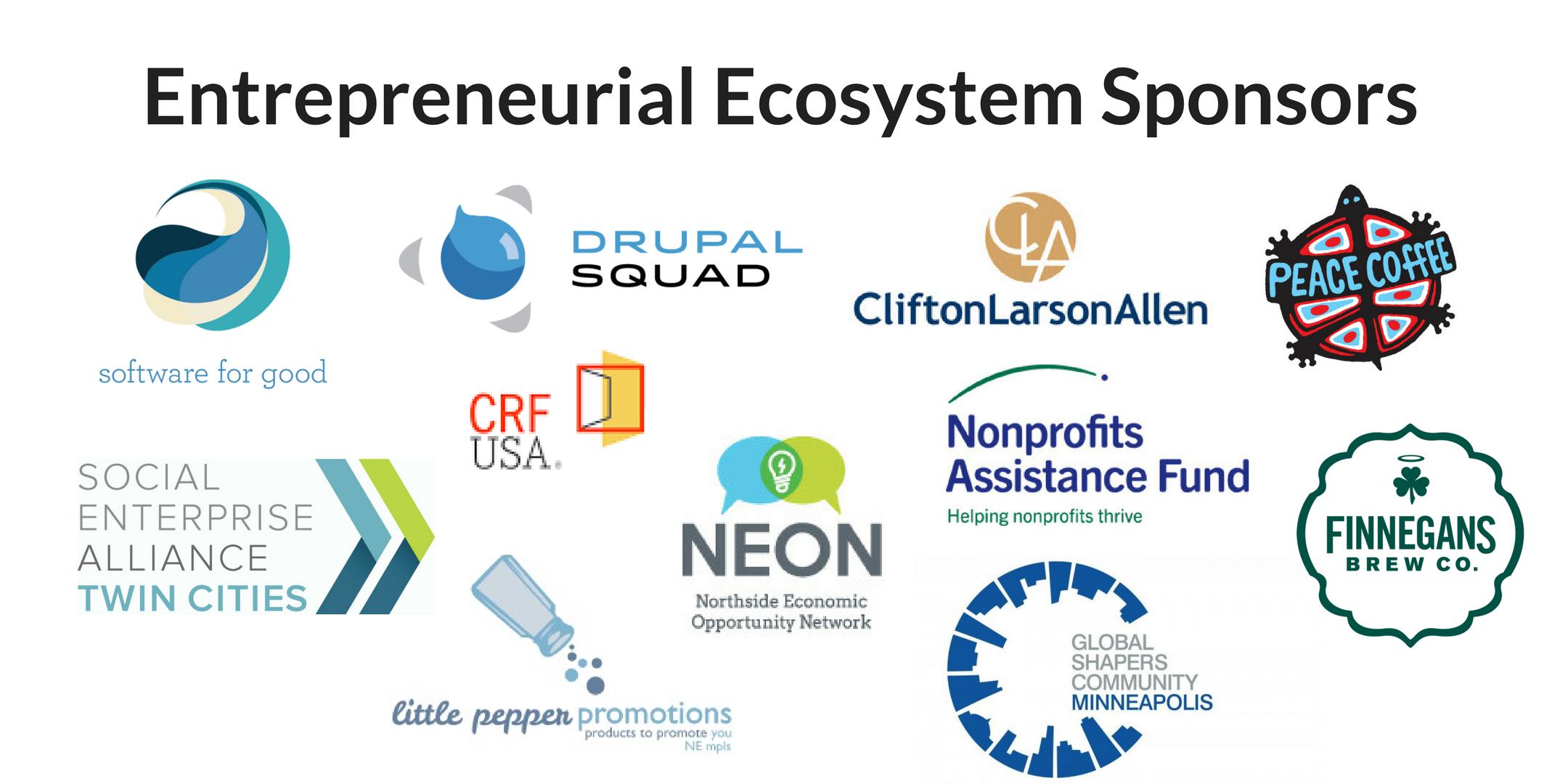 entrepreneurial ecosystem sponsors