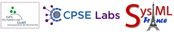 GPL, CPSE Labs, SysML France Logos