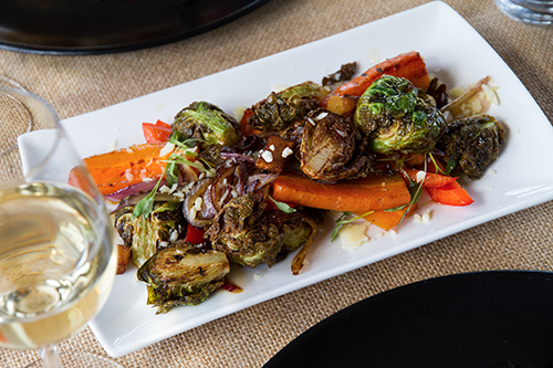 Légumes grillés d'automne