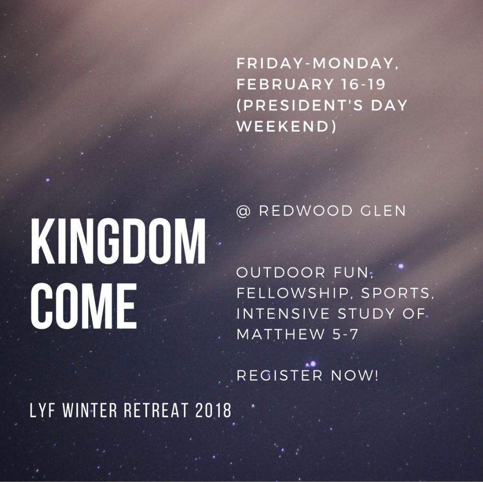 2018 LYF winter Retreat