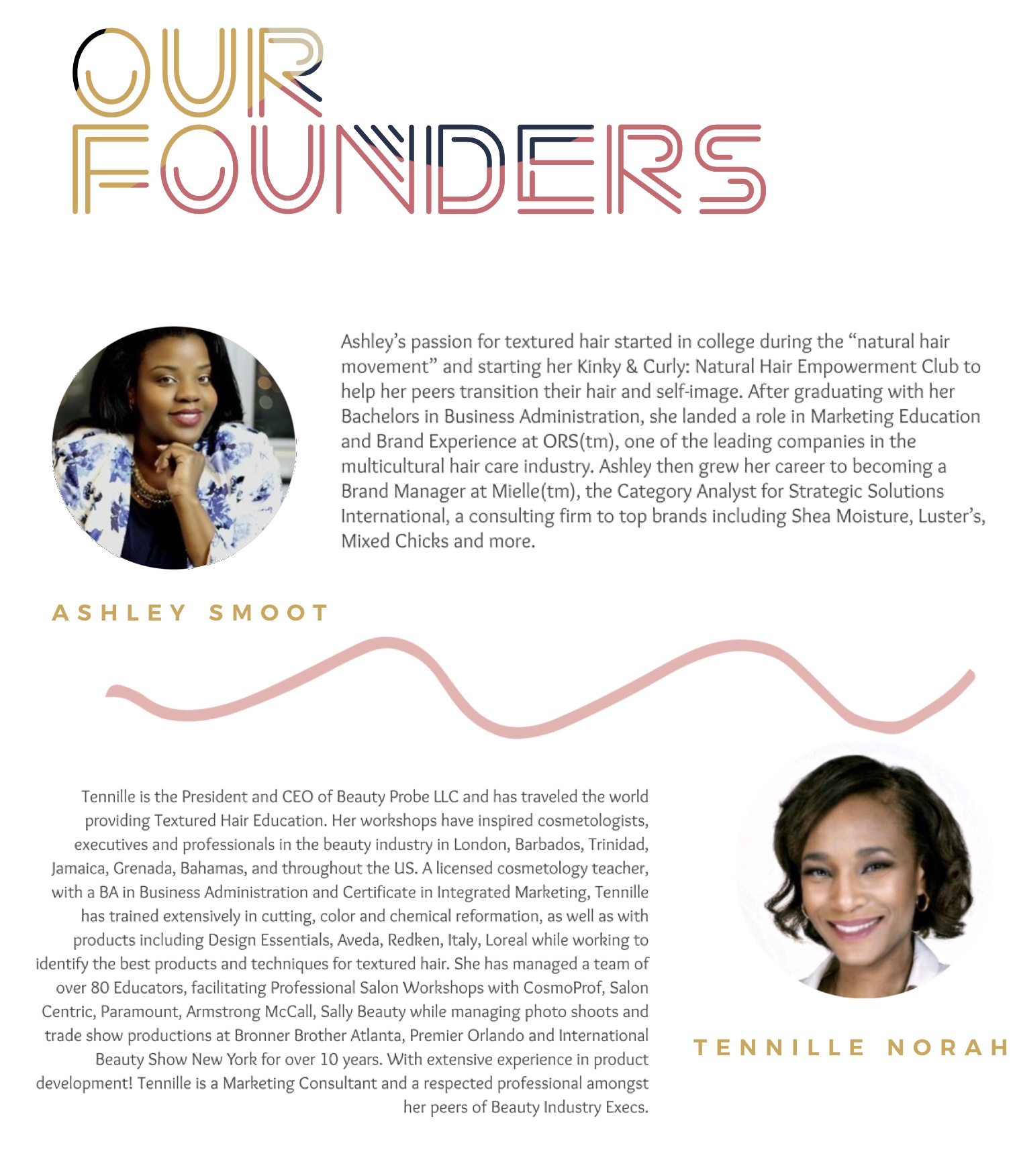 Founders - Ashley Smoot & Tennille Norah