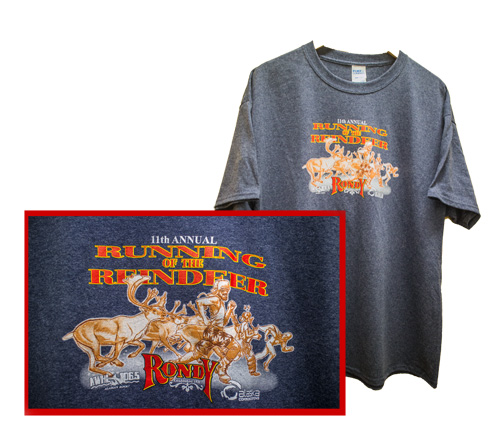 2018 Running of the Reindeer T-Shirt