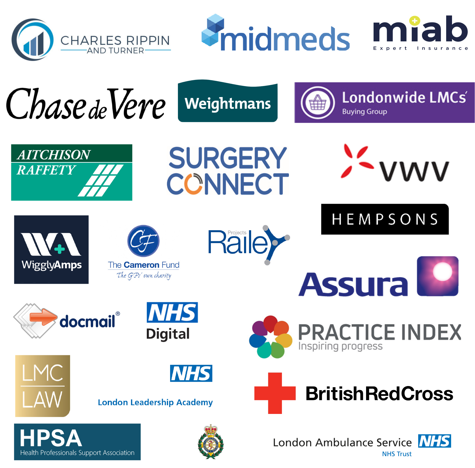 Londonwide LMCs' annual conference 2018 exhibitors