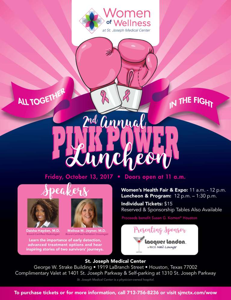 2017 Pink Power event