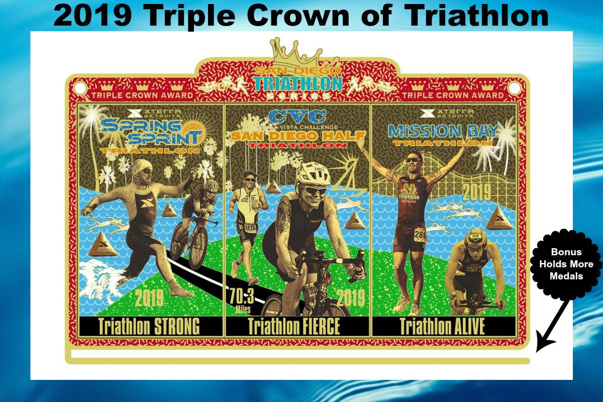 2019 SD Tri Series Triple Crown Award