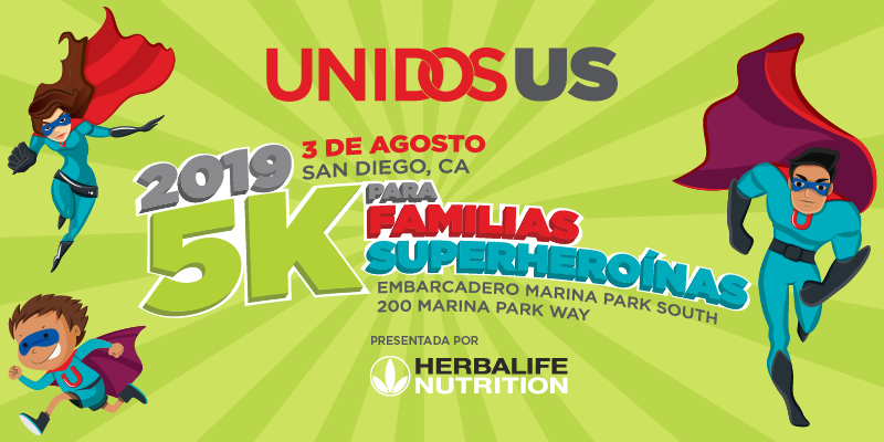 UnidosUS Superhero Family 5K Spanish