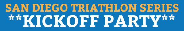 San Diego Triathlon Series Kickoff Party Banner