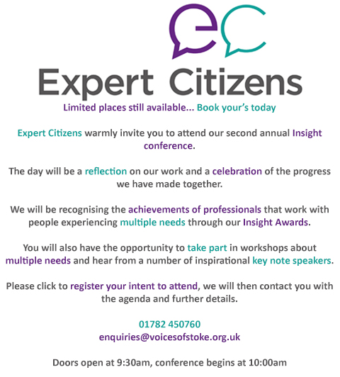 Expert Citizens Insight Conference and Awards Ceremony Invitation