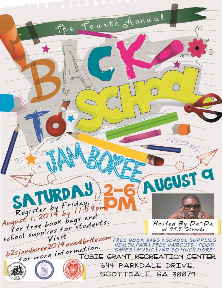 Back to School Jamboree Event Flyer
