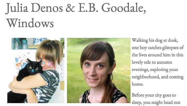 E.B. Goodale, Julia Denos