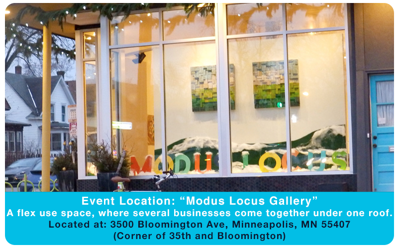 Event Location: 3500 Bloomington Ave, Minneapolis, MN 55407 (Corner of 35th and Bloomington)