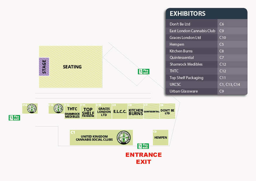 Product Earth Expo 2017 - Seminar Zone Plan