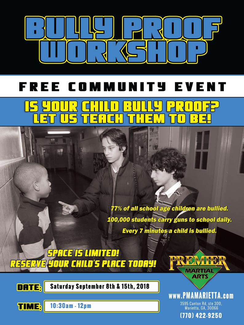 Bully Proof Workshop For Kids