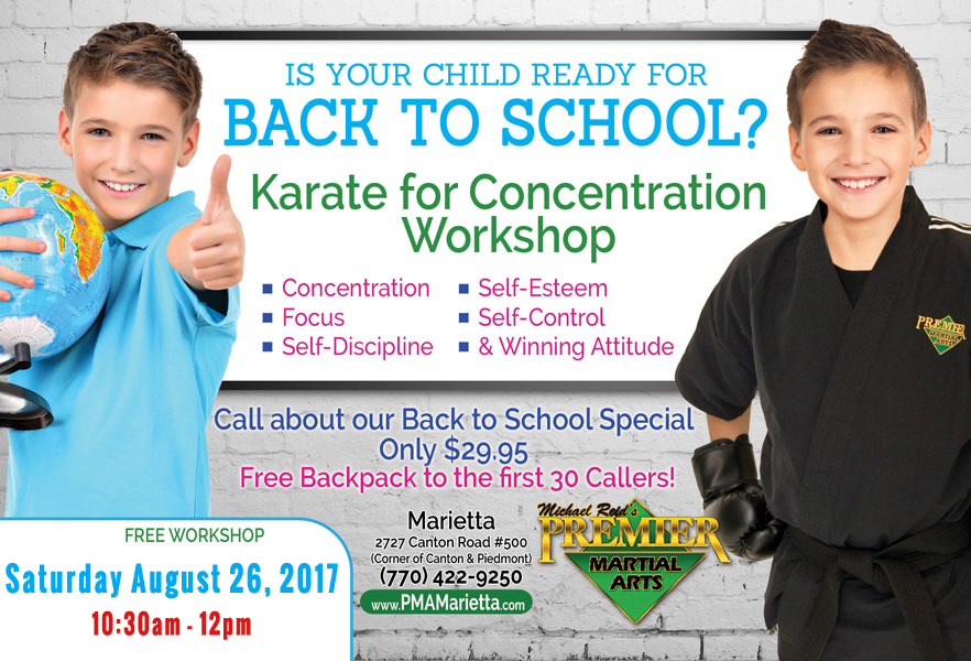 Karate For Concentration 26 Aug 2017