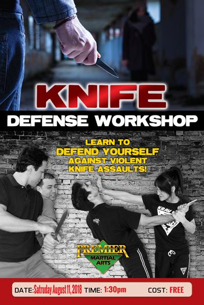 Knife Defense - August 2018