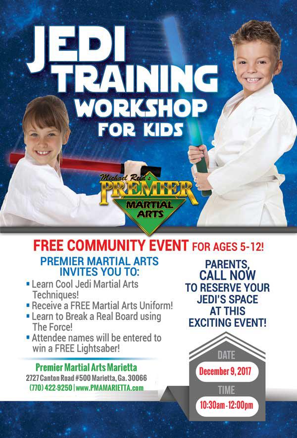 Jedi Training Workshop For Kids - Dec 9, 2017
