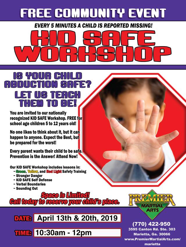 Kid Safe Workshop April 13 2013